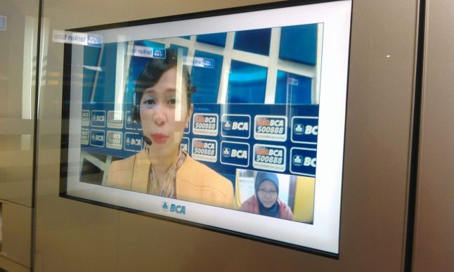 Video Banking yang menyatukan qta :D