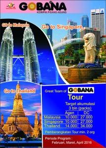 Tour Impian Bersama Gobana