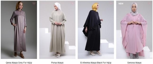 Perbedaan Busana Muslimah Kaftan Abaya Dan Gamis Ceria Wisga